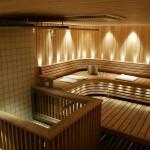 sauna-paarakennuksessa